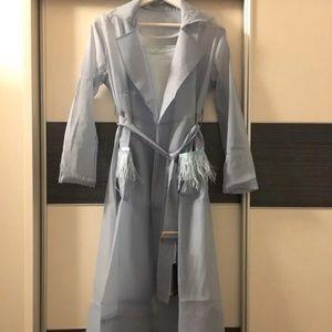 Women's transparent dress set